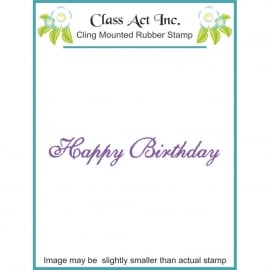 Class act inc.-happy birthday