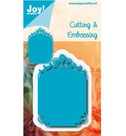 Joy Crafts - Tag blauwe mal