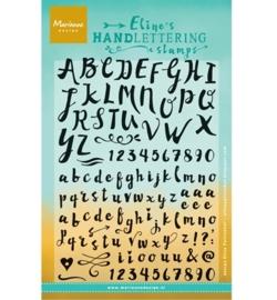 Marianne Design stempel Eline Handlettering - Script