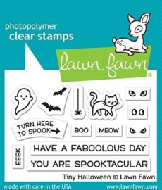 Lawn Fawn Tiny Halloween clear stempel