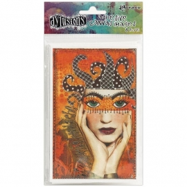 "Dyan Reaveley's Dylusions Adhesive Canvas 3.375""X5.25"" 8/Pkg"
