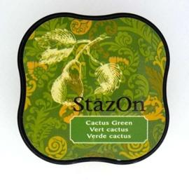 Stazon inktkussen Midi Cactus Green