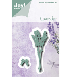 Cutting & Embossing stencil - Lavendel + Strik Joy Crafts