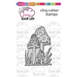 Stampendous-mushrooms  Pink your Life