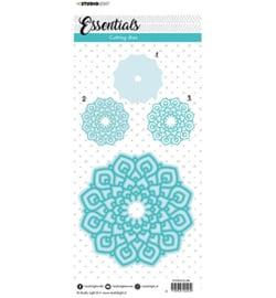 STENCILSL384 - SL Cutting Die Mandala Essentials nr.384