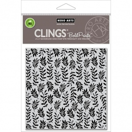 "Hero Arts Cling Stamps 6""X6"" Foliage"
