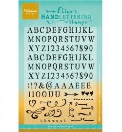 Marianne Design stempel Eline Handlettering - Light