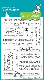 Lawn Fawn Merry Messages
