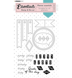 BASICSDC51 - Studio Light - Stamp & Die-cut - Essentials - nr.51