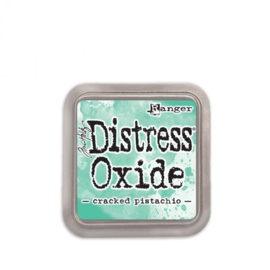 Tim Holtz distress oxide cracked pistachio inkpad