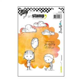 Carabelle stamp A6 innocence