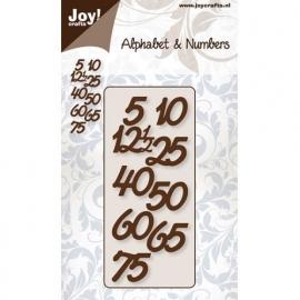 Alphabet & Numbers jubileum cijfers
