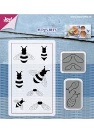 Snijstencil & Stempel - Mery's Bijtjes