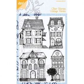 Clear Stamps - Vintage Huizen