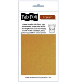 Fabolous Foil - Bright Copper