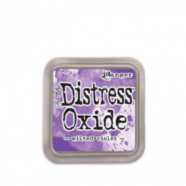 Tim Holtz distress oxide wilted violet inkpad