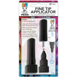 Dina Wakley Media Fine Tip Applicators 2/Pkg