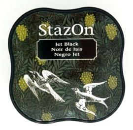 Stazon inktkussen Midi Jet Black