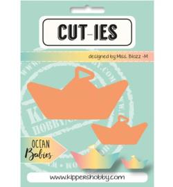 Cut-ies Ocean Babies - Paperboat