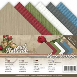 Linnenpakket - A5 - Amy Design - Oud Hollands