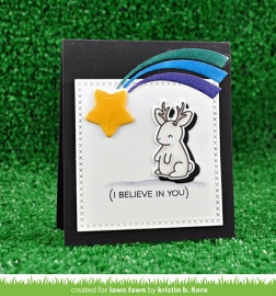 believe in yourself stans Lawn Fawn