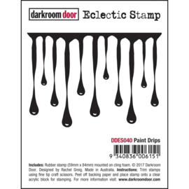 Paint Drips - Darkroom Door