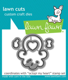 Octopi my heart - Lawn Fawn stans