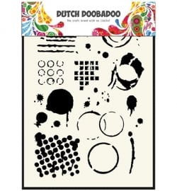 Dutch Mask Art Geometric Tiles
