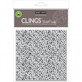 "Hero Arts Cling Stamps 6""X6"" Confetti"