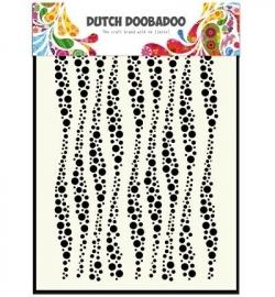 Dutch Mask Art Wavy Stripes