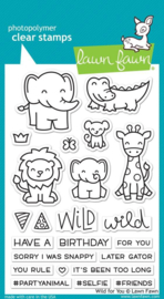 Lawn Fawn Wild for you clearstempel
