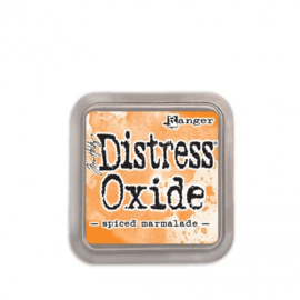 Tim Holtz distress oxide spiced marmalade inkpad