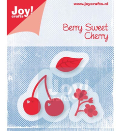 Joy Crafts - Cutting & Embossing stencil (3st) - berry sweet cherry