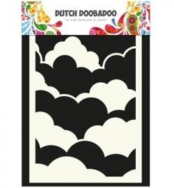Dutch Mask Art Clouds