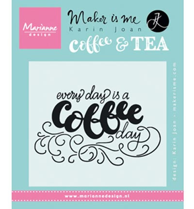 Quote - Every day is a coffee day Karin Joan