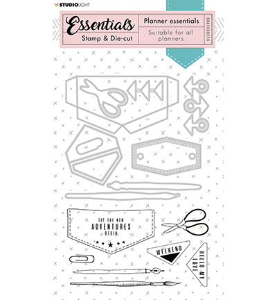 BASICSDC54 - Studio Light - Stamp & Die-cut - Essentials - nr.54
