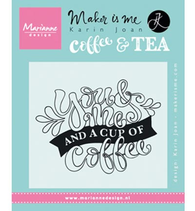 Quote - You & Me and a cup of coffee Karin Joan