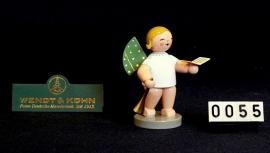 650/19  Orkest : engel met bladmuziek + fluit