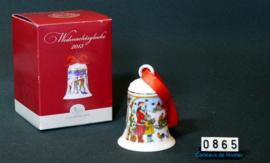 2013 Kerstklokje porselein, Hutschenreuther