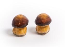 model Peper en zoutstel Cantharel / Champignon 8 cm