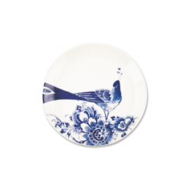 Royal Delft model Peacock- Gebakbord 17 cm
