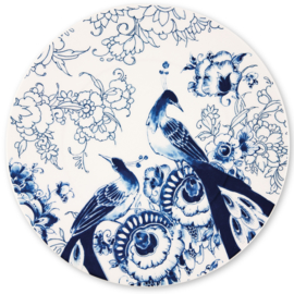 Royal Delft -model Peacock Symphony- Onderbord
