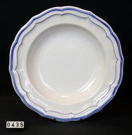 model Files Bleus Ø 23 cm Diepbord , Gien