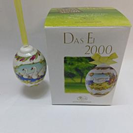 """2000 """"Zwaan"""" Hutschenreuther model Ei"""