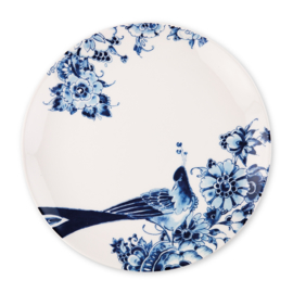 Royal Delft model Peacock -Dinnerbord- coupe