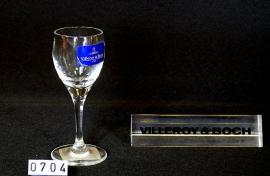 "model Torino  V & B kristallen glas "" Borrelglas """