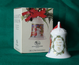 1996 Kerstklokje Hutschenreuther  porselein