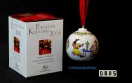 2003 Kerstbal Porselein, Hutschenreuther
