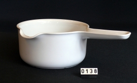 model Tavola Leonard Steelpan porselein ovenbestendig 16 cm doorsnee