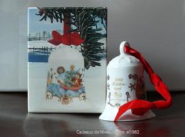 1982 Kerstklokje porselein merk Hutschenreuther